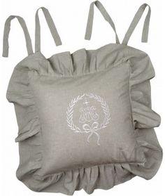 Poszewka na krzesło Emmy Lin Drawstring Backpack, Shabby Chic, Backpacks, Bags, Fashion, Handbags, Moda, Fashion Styles, Drawstring Backpack Tutorial