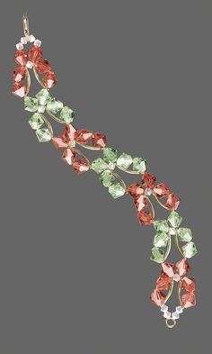 Butterrfly bracelet free pattern from Fire Mountain Gems