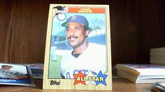TOPPS 1987 A.L. ALL STAR JIM RICE CARD#610 BOSTON RED SOX