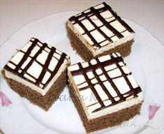 Show details for Recept - Eskymo řezy Sweet Recipes, Tiramisu, Waffles, Sweet Tooth, Homemade, Cheesecake, Baking, Breakfast, Ethnic Recipes