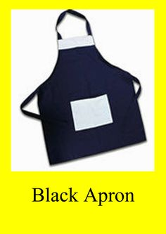 Black Apron with Your Design