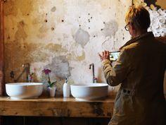 Spotted by TerezainOslo | #kavarnacohledajmeno #interiordesign #cafe #coffeehouse #DIY #handmade #reconstructed #Praha #Prague #coffee #bathroom #bathroomgoals #white #