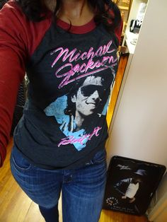My Michael Jackson Fan Favorites for January & 2017 Resolutions — mjfangirl 3d T Shirts, Cool Shirts, Awesome Shirts, Michael Jackson Merchandise, Jackson Family, Boys Who, Graphic Tees, Apple Head, Resolutions