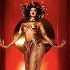 Cardi B, Aaliyah, Medusa Costume, Koh Gen Do, Celebrity Halloween Costumes, Halloween Pics, Woman Crush, Fashion Stylist, Sensual