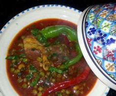 Market jelbana – Ragoût de petits pois