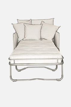 Buy online Ghost 11 By gervasoni, armchair bed with removable cover design Paola Navone, ghost Collection Sofa Beds, Vanity Bench, Cover Design, Accent Chairs, Couch, Riga, Furniture, Home Decor, Sofa