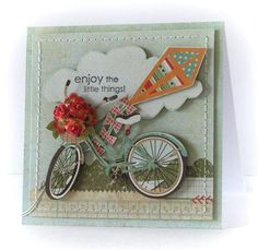 enjoy the little things Stampin' Up card