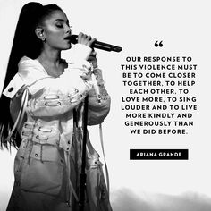 """Do you think this is the best move?? @people -  #ArianaGrande reveals she's returning to the """"brave city"""" of Manchester to perform a benefit concert in her first public note since the attack. ❤️ Tap the link in the bio for all the details. 