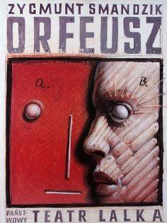 Franciszek Starowieyski, Orpheus, 1995