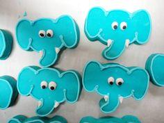 elephant face cookies by slice custom cakes