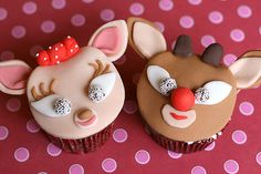 Clarice and Rudolph by Bakerella,