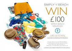 Competition Time: 'Like' Simply Beach on Facebook