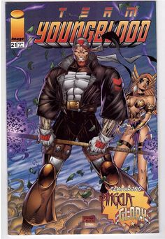 Team Youngblood #21 March 1996 Image Comic Book Rob Liefeld Angela Glory