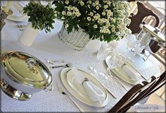 Spring table settings - saboreando a vida: Mousse de Atum + Mesas de Primavera