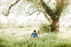 Faust Park Engagement, St. Louis Engagement, St. Louis Wedding Photography, Field Engagement  // Courtney Smith Photography