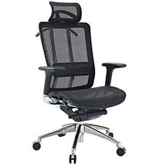 Future Office Chair Black