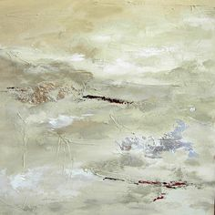 Abstract Painting - Landscape I, Neutral Colors