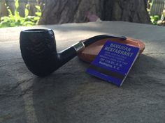 Vintage Bent Billiard Briar SJV Tobacco Pipe by RelixMpls on Etsy