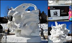 Mille Fiori Favoriti: International Snow Sculptures in Breckenridge, Colorado