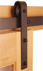 Barn Door Hardware In Oil Rubbed Bronze, Stainless Steel, And Black  Finishes. Sliding Door Hardware Styles Include Box Rail Hardware, Flat Track  Hardware ...