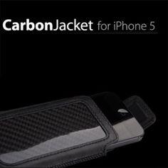 Ion Factory Carbon Jacket - Ledertasche für iPhone 5 bei www.StyleMyPhone.de