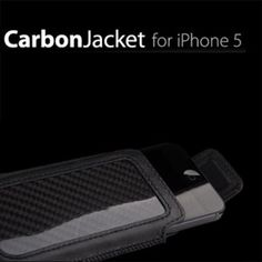 Ion Factory Carbon Jacket - Ledertasche für iPhone 5 bei www.StyleMyPhone.de