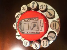 50 shades red room cake