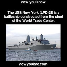 I was one of the Directors for the Company that built this ship. - Now You Know