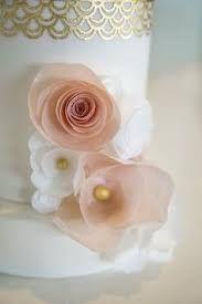 Wedding cake decoration sugar flower decoration wafer paper flower wedding cake decoration sugar flower decoration wafer paper flower cake tipper edible flower shop at decoreats on etsy mightylinksfo