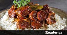 Μαλακά κομματάκια χοιρινού βουτάνε στη μπύρα και σερβίρονται… πεντανόστιμα με ρύζι! Ethnic Recipes, Food, Essen, Meals, Yemek, Eten