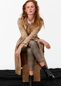 Εικόνα 1 του ΚΑΜΠΑΡΝΤΙΝΑ ΜΕ ΥΦΗ ΚΑΣΤΟΡ / ΔΕΡΜΑΤΙΝΟ ΜΥΤΕΡΟ ΜΠΟΤΙΝΙ ΜΕ ΤΑΚΟΥΝΙ από Zara