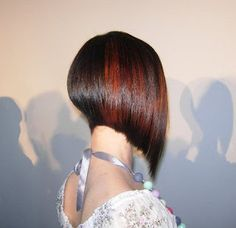 Really like A lines! If I ever cut my hair again that's what I'll do but not as short!