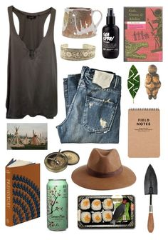 """The Anthropology Major"" by spazzercat ❤ liked on Polyvore featuring Isabel Marant, Reiss, KING and Jura"