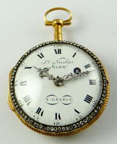 vintage watch Fern pocket