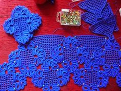 Meu Mundo Craft: Bata em crochê