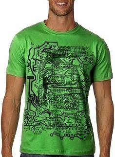 Circuit Board Tshirt