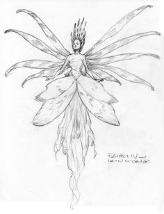 """""""Fairy Woman"""" - Iain McCaig (http://www.endicott-studio.com/gal/FairySkBk/ian6Lg.html) ★ 