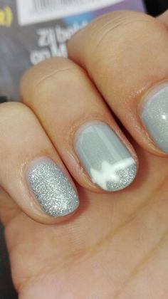 Satin grey & fabulous silver