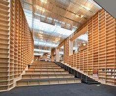 Musashino Art University Museum & Library - Sou Fujimoto by Scott Norsworthy, via Flickr
