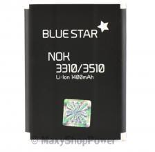 BATTERIA ORIGINALE BLUE STAR 3,7V 1400mAh PILA DI RICAMBIO AGLI IONI DI LITIO PER NOKIA 3310 3330 3410 3510 3510I 5510 6650 6800 6810 NUOVA - SU WWW.MAXYSHOPPOWER.COM