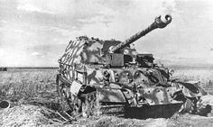 Ferdinand Tank Destroyer armed with a 8.8 cm KwK 43