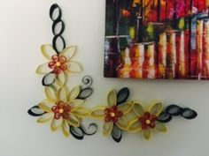 I made with quilling added