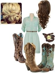 Outfit for rodeo by bstone17 on Polyvore