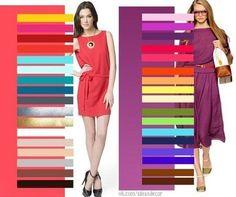Una semplice guida da consultare ogni volta che volete abbinare nel modo giusto i colori dei vostri abiti. Ecco cosa suggeriscono i migliori stilisti di moda.
