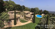 Beautiful Robert Dallas Stone Villa with Pool, Tennis and Panoramic Sea Views