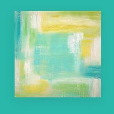 Acrylic Abstract Art Original Painting on by OraBirenbaumArt, $385.00