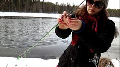 Fly fishing in winter time. Video: 300 hours of fly fishing.