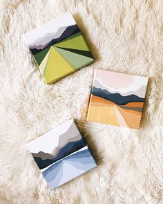 Simple Canvas Paintings, Small Canvas Art, Mini Canvas Art, Mini Paintings, Diy Canvas, Painting Inspiration, Art Inspo, Diy Painting, Watercolor Art
