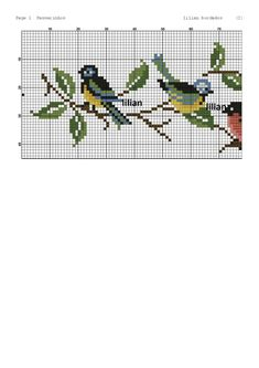 Hardanger Embroidery, Embroidery Art, Cross Stitch Embroidery, Embroidery Patterns, Crochet Patterns, 123 Cross Stitch, Cross Stitch Bird, Cross Stitch Designs, Cross Stitch Patterns