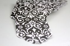 20 Black damask paper tags,damask gift tags,black damask tags,die cut gift tags,black and white tags,Victorian wedding tags
